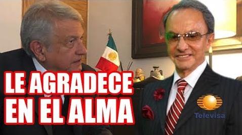 Nino Canún llega a Televisa con la ayuda de López Obrador