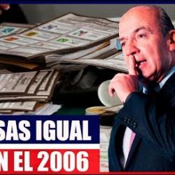 Felipe Calderón ya Fragúa Cómo Hacer Trampa Para Registrar su Nuevo Partido Político