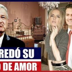 Peña Nieto y Tania Ruiz usaban el Departamento de Palacio Nacional Como su Refugio de Amor